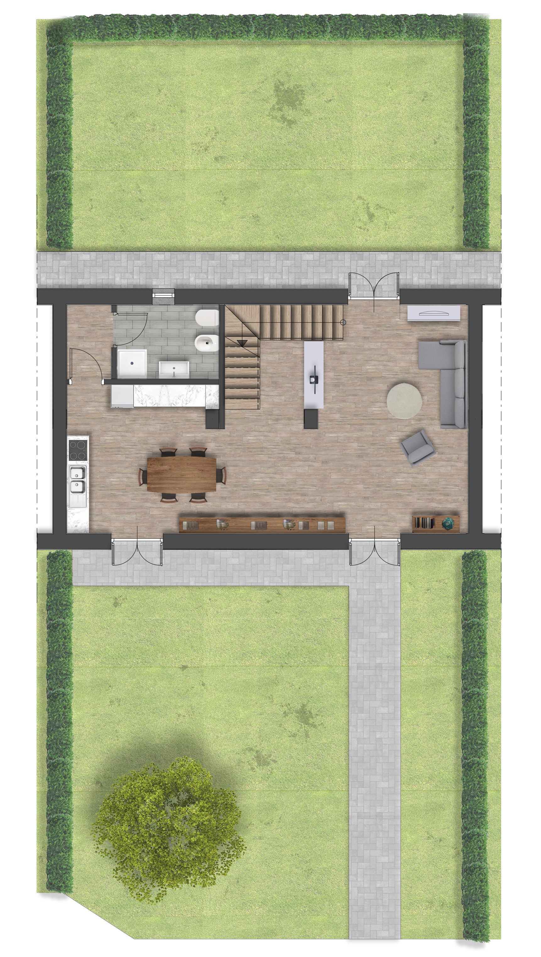 Luserna S.G. – Via Fuhrmann – Residenza Lavanda – Alloggio 7