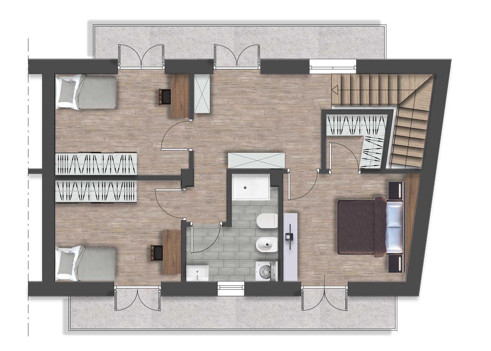 Luserna S.G. – Via Fuhrmann – Residenza Lavanda – Villetta 8